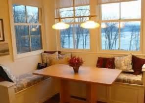 kitchen corner booth red
