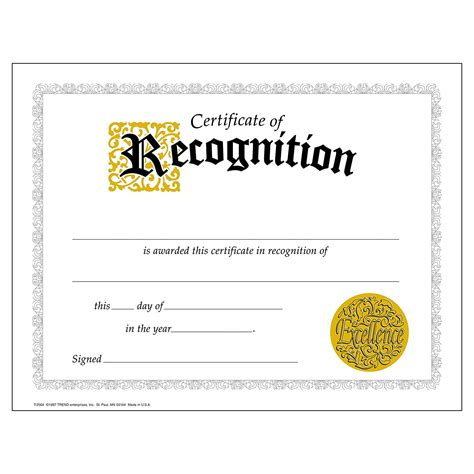 certificate of recognition template certificate of recognition template free best