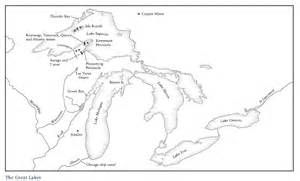 blank us map with lakes great lakes quotes like success