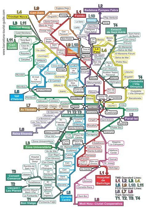 barcelona zone 1 map barcelona metro map click on the map to see a magnified