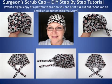 Free Printable Scrub Hat Patterns