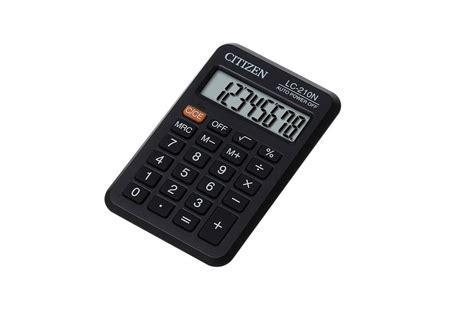Kalkulator Saku Lc 210n jual citizen lc 210n jual citizen pocket lc 210n di kalkulator grosir