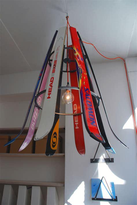 chandelier agency willem heeffer hanging recycled ski chandelier