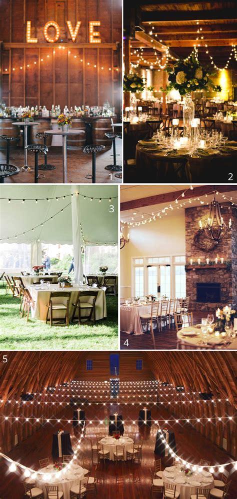 globe string lights wedding lighting ideas