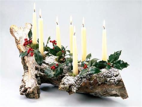 Weihnachtsdekoration Innen Selber Machen by Mit Einer Klebepistole Fixiert Die Kerzen Auf Dem