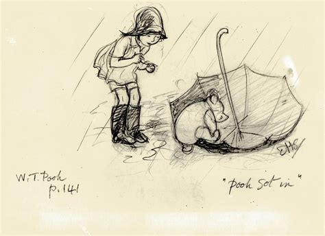 E H Shepard Sketches by The Story Of March 2010