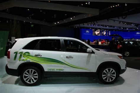 kia diesel hybrid beurzen frankfurt 2009 kia sorento diesel hybride