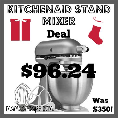 KITCHENAID STAND MIXER DEAL: $96.24 after Sale, Coupon