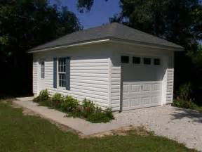 how to build a one car garage detached garage pictures