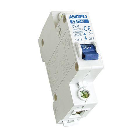 Mcb Mini Circuit Breaker Schneider Ic60n 2p 32a miniature circuit breaker andeli dz47 63 1p 32a с technology