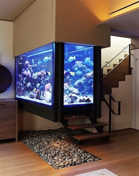 Sale Pop Living Tropical Wall Decoration 30 fish tank ideas for a relaxing home