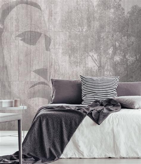 carta parati da letto effetto muro carta da parati da letto