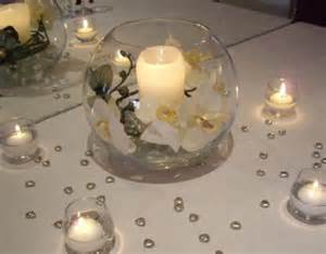 Glass Fishbowl Vase Help Me With My Table Centrepieces Wedding Planning