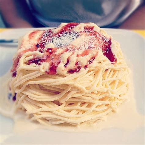 How About A Spaghetti For Dessert by Food Design Spaghetti Meatballs Bit