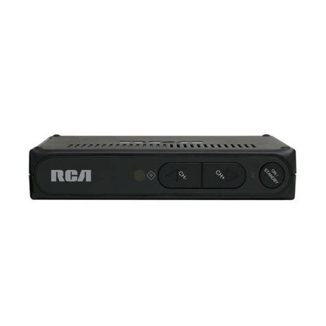 Tv Digital Converter Box rca dta800b1 digital to analog converter box walmart