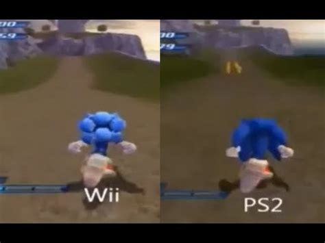 wii vs ps2 which has sonic unleashed wii vs ps2 comparison