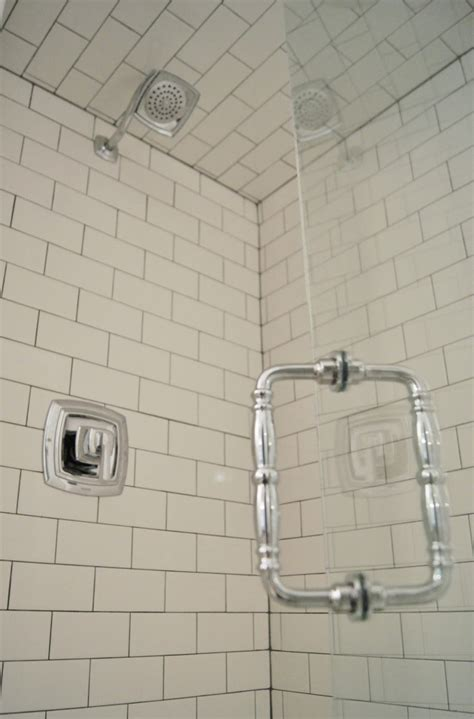 white subway tile walk in shower 30 pictures of bathroom design with large subway tile