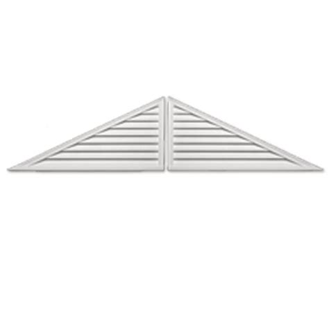 fypon gable vents fypon 60 in x 30 in x 2 in polyurethane two piece