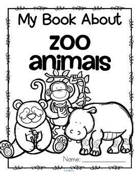 Zoo Animals Printables - Read Color Draw - Make a Book