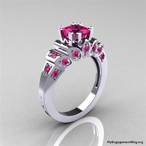 Cincin Berlian Fashion 080 Ct Ring Emas Putih 17 best images about pink diamonds on pink necklaces engagement rings and