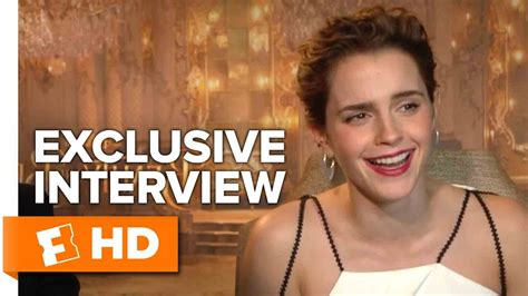 emma watson interview 2017 emma watson and dan stevens exclusive beauty and the