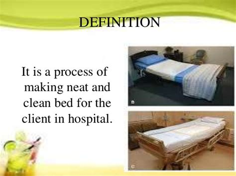 beds and bed making client care nursing bed making gihs