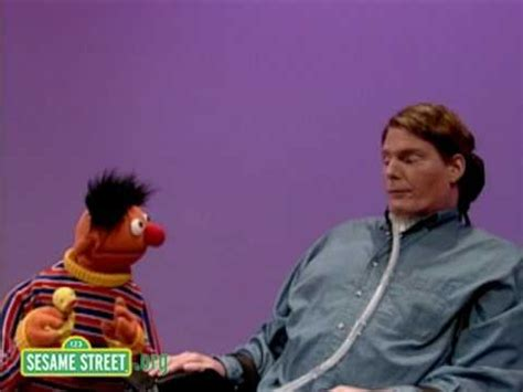 christopher reeve muppet show youtube sesame street christopher reeve and ernie youtube