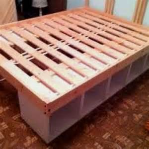 Bed Frame With Storage Diy The World S Catalog Of Ideas