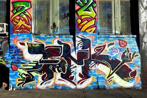 Name Stickers For Walls funk graffiti at 5pointz