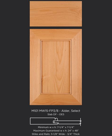a modern twist on the shaker door 3 1 8 quot wide frame and