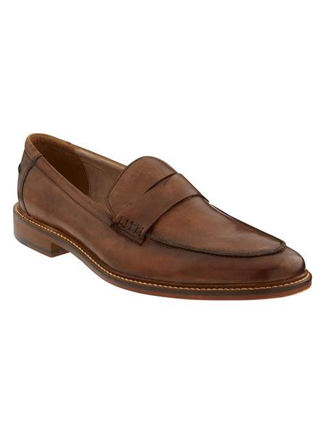 banana republic slippers banana republic paul loafer in brown for cognac lyst