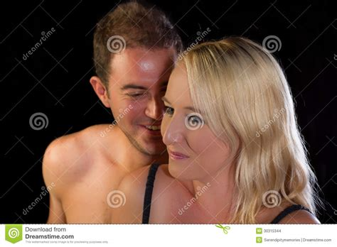 love in bed young couple in love in bed stock images image 30315344