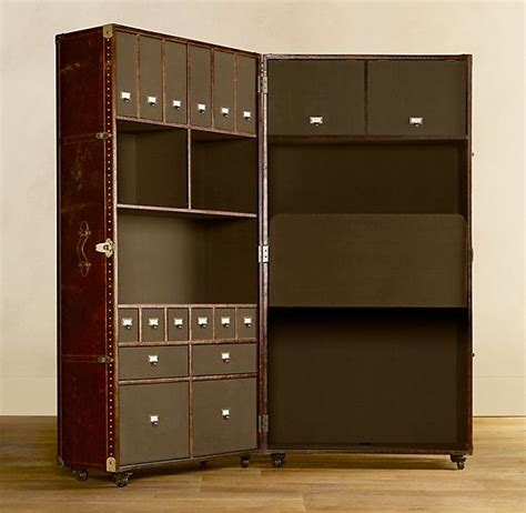 fold down desk hinges mayfair steamer trunk secretary this is so beautiful