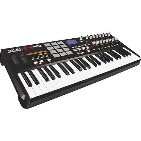 Keyboard Controller akai professional mpk49 keyboard usb midi controller music123