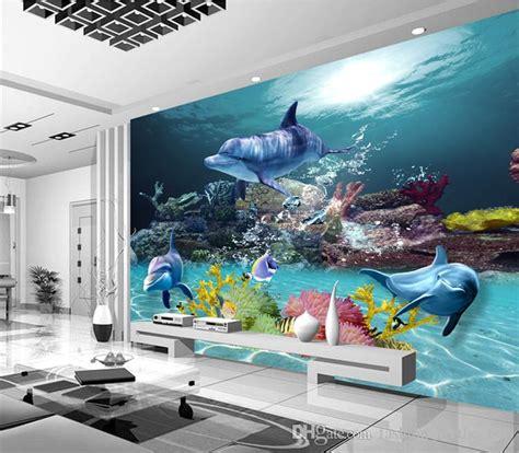 wallpaper murals for bedrooms custom 3d wallpaper underwater world photo wallpaper