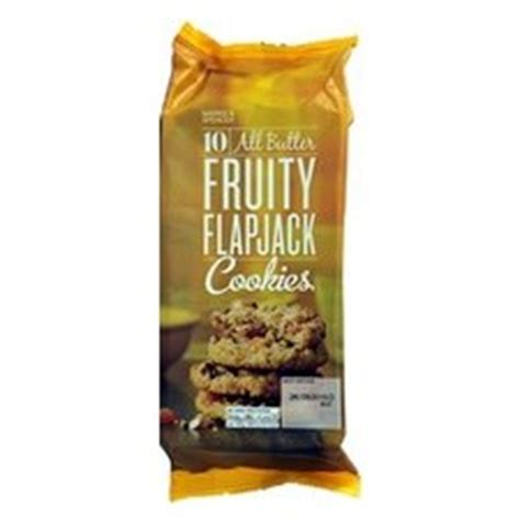 Marks And Spencer Fruity by Marks And Spencer All Butter Fruity Flapjack Cookies 250g