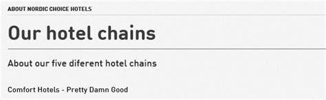 Comfort Inn Rewards Program Nordic Choice Hotels And Nordic Choice Club Loyalty