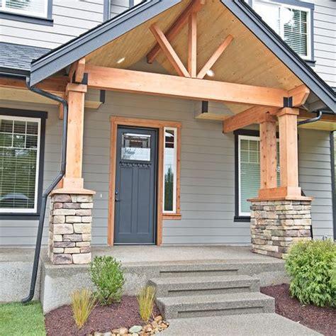 best 25 craftsman front porches ideas on