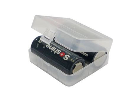 Nitecore Transparent Battery For 2x18650 26650 battery for 2x26650 batteries storage high