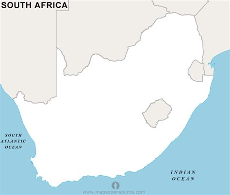 south africa map outline free south africa outline map outline map of south