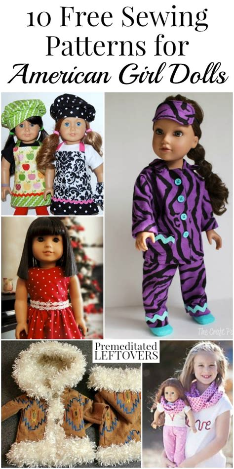 design a boutique doll size 10 american girl doll clothes free sewing patterns