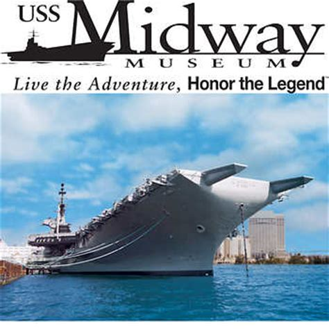 Uss Midway Museum Two Etickets