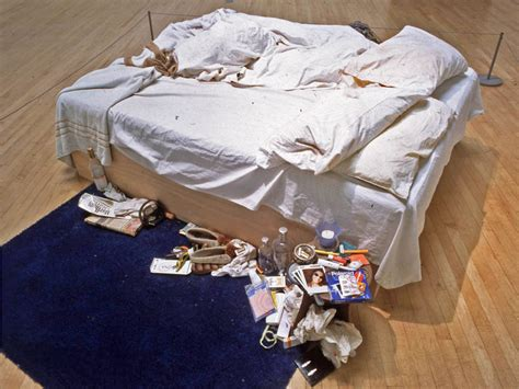 my bed tracey emin my bed condoms www imgkid com the image kid has it