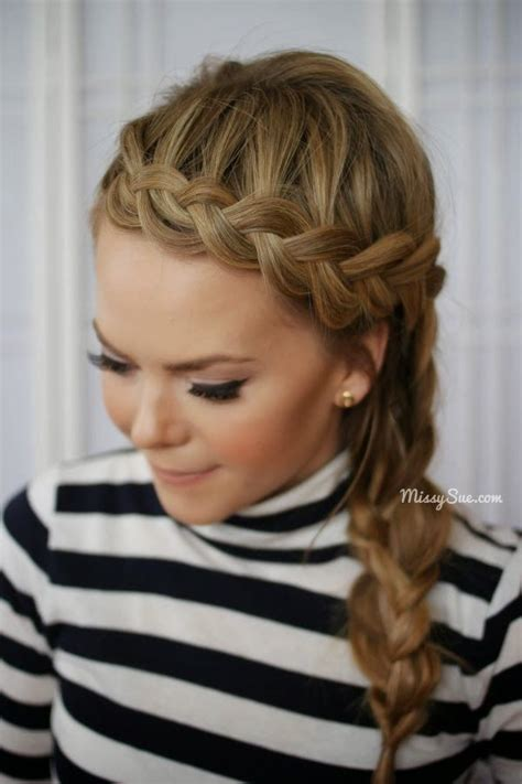 353 best braided hair styles i like images on pinterest 17 best ideas about side braid hairstyles on pinterest