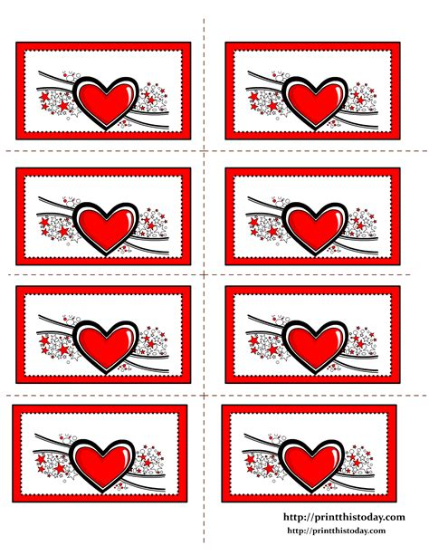 printable heart stickers free free printable hearts labels