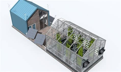 eco green house design eco barge floating greenhouse produces clean energy and food