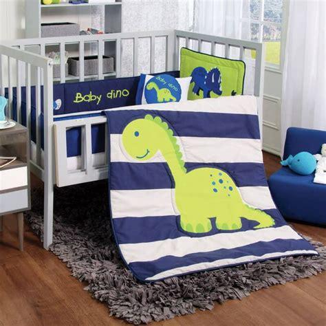 Baby Boy Dinosaur Crib Bedding Dinosaur Crib Bedding Baby Bedding Crib Cot Sets 9 Dinosaurs Theme Rrp 150 Ebay Dinosaur Crib