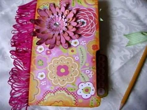 Handmade File Folder Designs - file folder notebook holder for a friend
