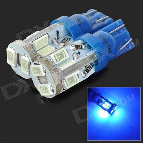 T10 Canbus 10 Titik Led 5730 Blue Mobil Eropa Anti Error sencart t10 4w 25lm 490nm 10 smd 5730 led blue light car ls blue 12 16v 2 pcs free