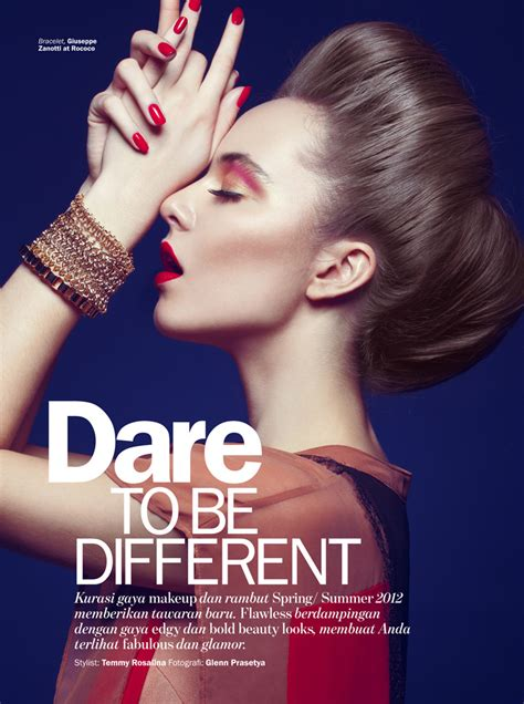 be a to be different by glenn prasetya for